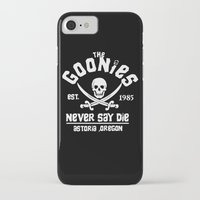 goonies iPhone & iPod Cases featuring The goonies by CarloJ1956