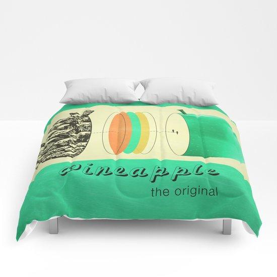 pineapple, the original Comforters