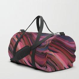 Plum Abstract Duffle Bag