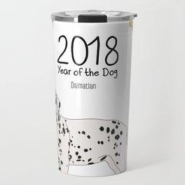 Year of the Dog - Dalmatian Travel Mug
