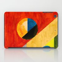 balance iPad Cases featuring BALANCE by THE USUAL DESIGNERS