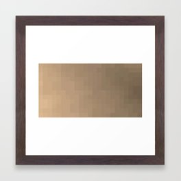 ABSTRACT PIXELS #0006 Framed Art Print