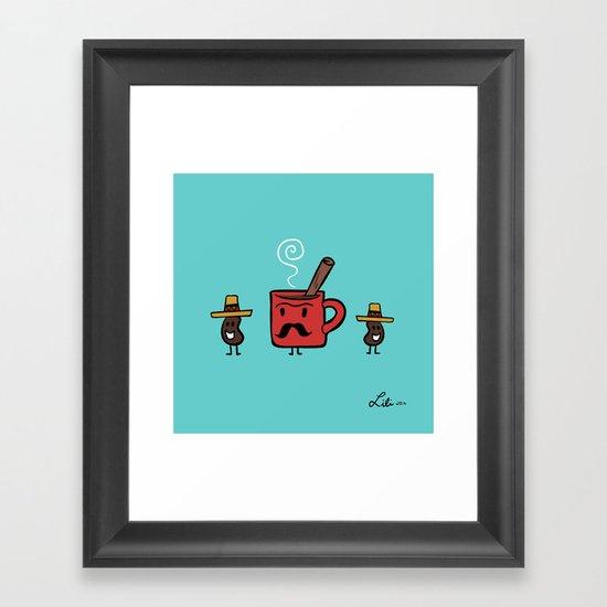 Cafe De Olla Framed Art Print