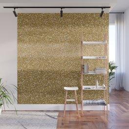 Glitter Glittery Copper Bronze Gold Wall Mural