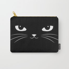 black kitty Carry-All Pouch