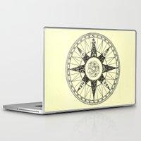 compass Laptop & iPad Skins featuring Compass by Smokacinno