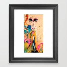 Fridaneska Framed Art Print