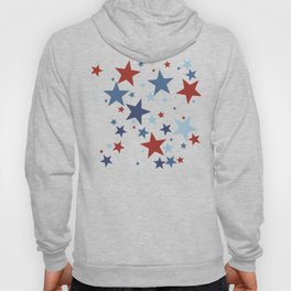 Stars - Red, White and Blue Hoody