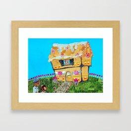 Gingerhouse Framed Art Print