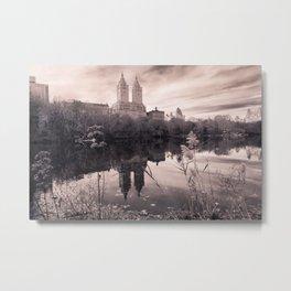 Central Park Landscape Metal Print