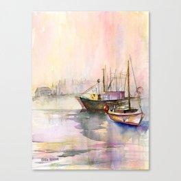 2 Boats Canvas Print