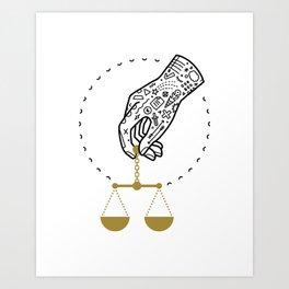 Decide Art Print