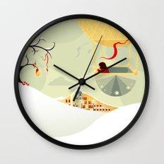The Magic Balloon Wall Clock