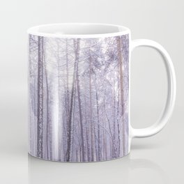 Snow in Trees Coffee Mug
