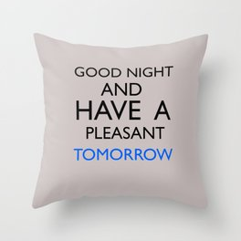 Saturday Night Live - Weekend Update Throw Pillow
