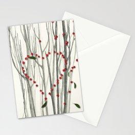 Valentine Heart Stationery Cards