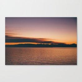 Sherbert Skies  Canvas Print