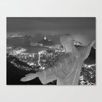 rio de janeiro Canvas Prints featuring Brazil Rio de janeiro by Al13500
