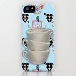 Time for a cuppa iPhone Case