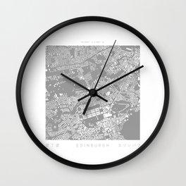 Edinburgh Figure Ground Wall Clock