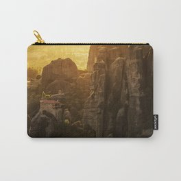 Golden hour at Meteora Carry-All Pouch