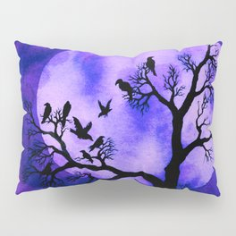 A Murder of Crows 3 Pillow Sham