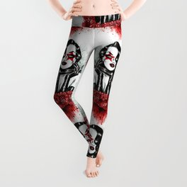 Lady Of The Roses Leggings