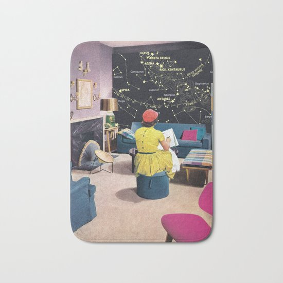 STAR CHART Bath Mat