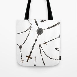 Wooden Rosary I Tote Bag