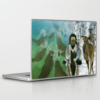 mythology Laptop & iPad Skins featuring Inuit Mythology: Chapter 1, part 7 by Estúdio Marte