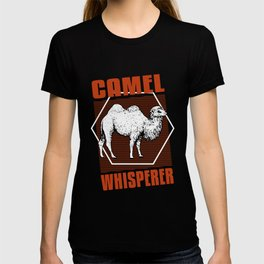 camel whisperer retro tee shirt T-shirt