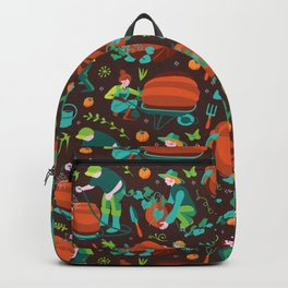 Green thumbed Backpack