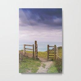 Gateway to the Coast Metal Print