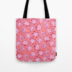 Wallflower - Rosette Tote Bag