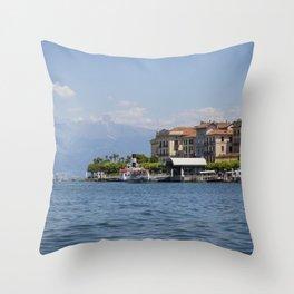 Bellagio, Lake Como, Italy Throw Pillow