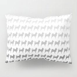 Chihuahua Silhouettes Pattern Pillow Sham