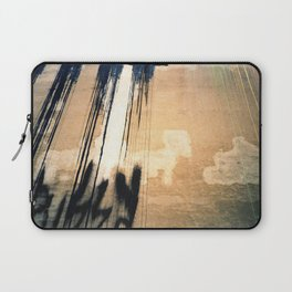 analog abstracts (pussy wall) Laptop Sleeve