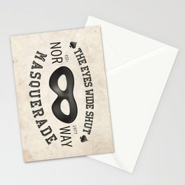 the eyes wide shut Stationery Cards