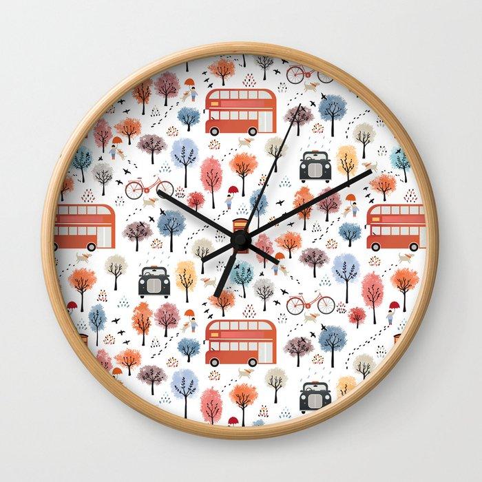 London transport Wall Clock