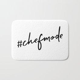 #chefmode Bath Mat