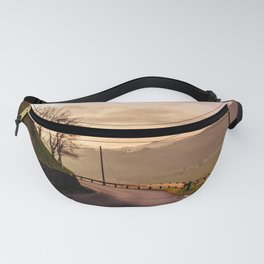 Spring sunset in the vineyards of Collio Friulano Fanny Pack