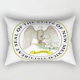 seal of new mexico Rectangular Pillow