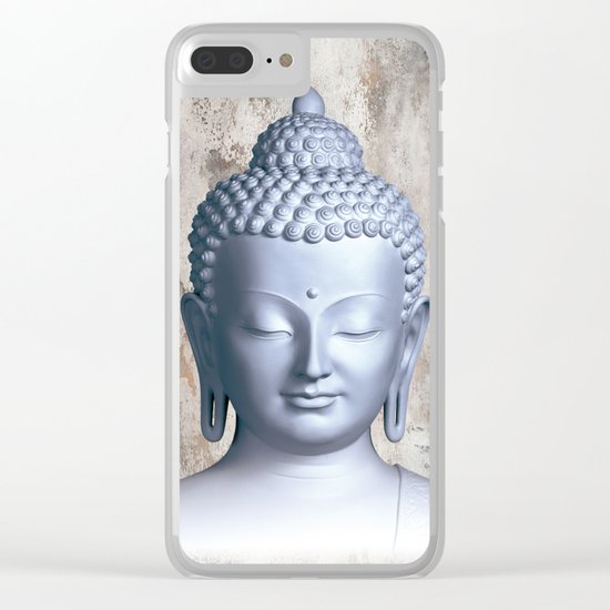 Μy inner Buddha Clear iPhone Case