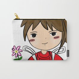 Spirit Away - Chihiro with flower Carry-All Pouch