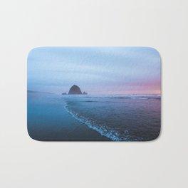 Haystack Rock Sunset Bath Mat
