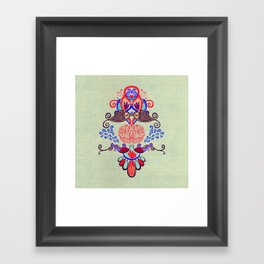 Sealife Harmony  Framed Art Print