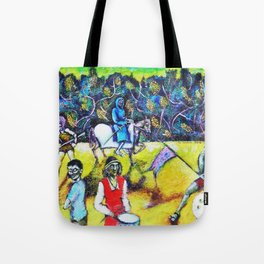 The Zombies Parade Tote Bag