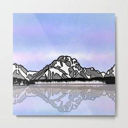Mount Moran Metal Print