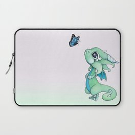 Little Dragon and Butterfly Laptop Sleeve