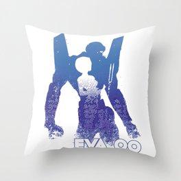 Rei Ayanami EVA 00 - Evangelion Throw Pillow